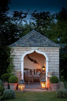 Daydream worthy retreat! We all need one of these in our backyards