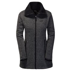 Jack Wolfskin Fleecemantel »SOLITARY MORNING COAT«