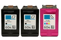 Buy #60XL HY Ink Cartridge 3PK - 2B/1C for HP at Houseoftoners.com. We offer to save 30-70% on ink and toner cartridges. 100% Satisfaction Guarantee.