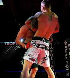 Justin's title fight at Collision Course