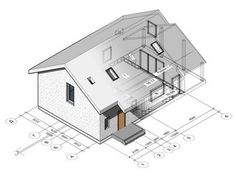 Проект дома R6, S=163,08 м2. Купить в Минске ǀ РуВитСтрой Modern House Plans, Floor Plans, How To Plan, Houses, Modern Home Plans, Floor Plan Drawing, House Floor Plans
