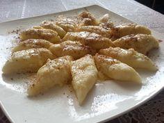 składniki:                                                           500g.twa... Macaroni And Cheese, Chicken, Meat, Pierogi, Ethnic Recipes, Food, Kuchen, Mac And Cheese, Essen