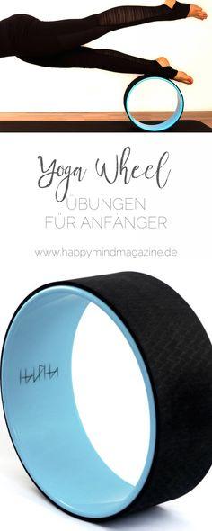 So übst du mit dem Yoga Wheel