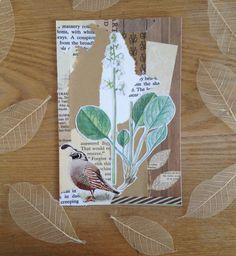 Handmade postcard by lo_creates on Instagram