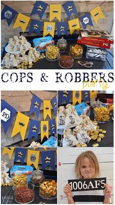 Stampin' Dolce: Cops & Robbers Birthday Party