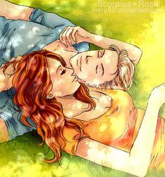 Scorpius and Rose...SO CUTE