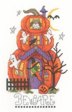 Beware - Cross Stitch Pattern