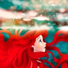 Disney Pixar, Disney Songs, Disney Nerd, Disney Fan Art, Cute Disney, Disney Animation, Disney Magic, Disney Princess Ariel, Princesa Disney