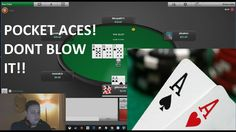 POCKET ACES!! CAN I GET VALUE? - YouTube