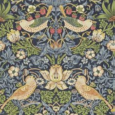 William Morris Strawberry Theif wallpaper 212564