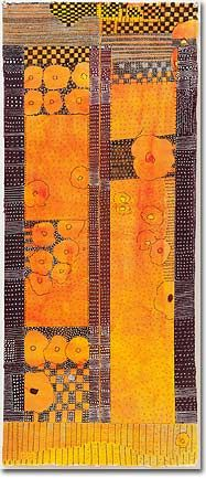Huguette Khoury Caland, designing line clothing designer Pierre Cardin, boldly abstract form