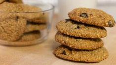 Cookies με ταχίνι - Απλά πεντανόστιμα! - Μαγειρική - Νέα Κρήτη Oatmeal Breakfast Cookies, Oatmeal Chocolate Chip Cookies, Oatmeal Cookies, Bananas, Lofthouse Sugar Cookies, Chocolate Chip Cookie Cake, Peanut Butter No Bake, Macaroon Recipes, Food Gallery