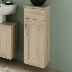 Badmöbel Badezimmer Unterschrank in Eiche hell hängend Jetzt bestellen unter: https://moebel.ladendirekt.de/bad/badmoebel/waschbeckenunterschraenke/?uid=e4281f6b-e913-5d9e-96fd-f010813d34d4&utm_source=pinterest&utm_medium=pin&utm_campaign=boards #bad #badunterschrank #hängeschrank #unter #badezimmerschrank #badezimmerschränkchen #badezimmerunterschrank #schrank #unterschrank #badschrank #badhängeschrank #badmoebel #hängeschränke #badezimmer #waschbeckenunterschraenke #badkommode