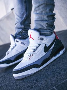 Nike Air Jordan 3 NRG 'Tinker' - – Sweetsoles – Sneakers, kicks and trainers. Nike Air Jordans, Sneakers Nike Jordan, Jordan Shoes Girls, Nike Air Shoes, Jordan Tenis, Jordan Nike, Nike Shoes For Men, Jordans Trainers, Nike Boots