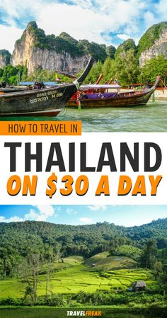 How to travel Thailand on $30 a day: Southeast Asia has become a hotspot for travelers looking for adventure on a budget and I show you how you can do it on $30 per day! | Travel Thailand on a budget Southeast Asia | Thailand cheap travel | Thailand travel tips | Thailand budget travel | Thailand budget hotels | backpacking Thailand #Thailand #backpacker #budgettravel - via @travelfreak_