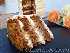 Cuadernos de cocina: Carrot and pineapple cake (Tarta de zanahoria y piña)