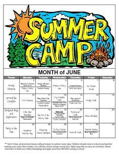 Summer Camp Theme Ideas Google Search Summer Day Camp Summer