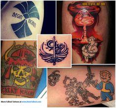 Fallout tattoo ideas