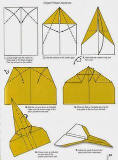 آموزش مرحله به مرحله اوریگامی موشک