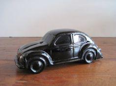 Vintage Avon Black Volkswagen Bug Bottle Full of Wild by Relic189, $10.00