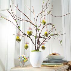 DIY Hanging Egg Tree Branch