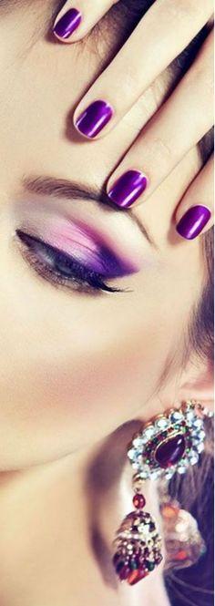 Purple Style, Eyeshadow Tutorials, Plum Color, Makeup Studio, Thank You Kindly, Purple Fashion, Purple Rain, Ultra Violet, Color Of The Year