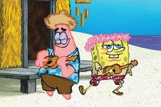 """Hi, SpongeBob. Spongebob Best Friend, Wie Zeichnet Man Spongebob, Spongebob Patrick, Spongebob Memes, Spongebob Squarepants, Patrick Star, Cute Cartoon Wallpapers, Cartoon Pics, Painted Ukulele"