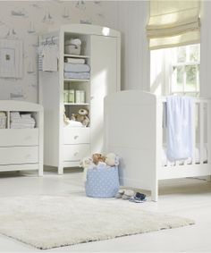 Mothercare Padstow Changing Unit- Porcelain White - dressers & changing units - Mothercare
