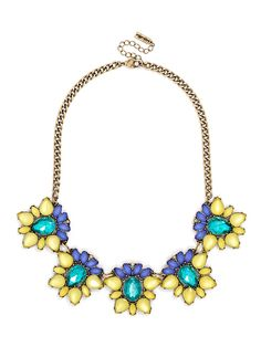 Acid Blossom Collar  Fashion Necklaces: Statement, Chains & More | BaubleBar http://www.baublebar.com/necklaces.html