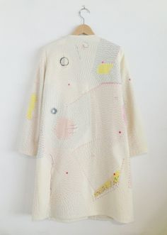 a tiny place happy but - zazizazizazi: zazi14aw sashiko wool coat