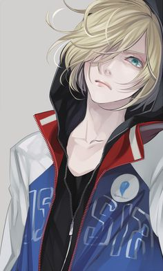 Yuri Plisetsky - Yuri!! on Ice by 祀花よう子 on pixiv (id: 3805572)