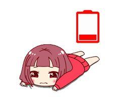 Cartoon Gifs, Cute Cartoon, Tired Gif, Sleeping Gif, Cartoon Chicken, Cute Love Gif, Kawaii Stickers, Gif Pictures, Anime Neko