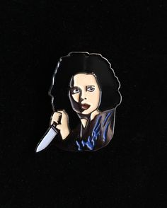 Dorothy Vallens pin from @beauandbauble  Isabella Rossellini at her best from Lynch's masterpiece Blue Velvet... Available to purchase through their link in bio!