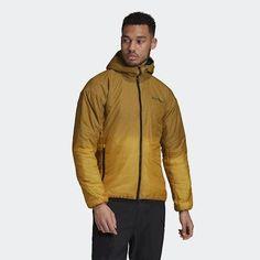 Men's Adidas Terrex Windweave Insulated Hooded Jacket FT6099 Size: Medium