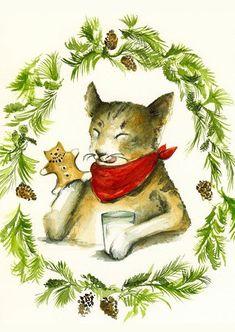 Amber Alexander - Etsy sells Christmas cards