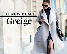 Greige: a cor da moda 2016