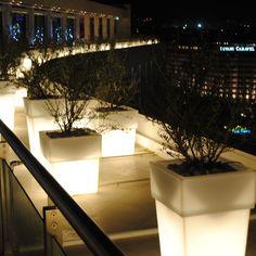 Serralunga Torre Planter with Light