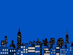 New York skyline Art Print by Vahram Muratyan   Society6