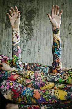 Kinda morbid but I love the wrist bandage tattoo