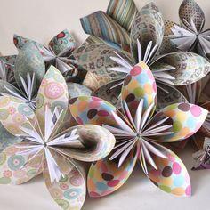 Kusudama origami ball