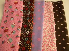 Fabric Remnants, Assorted Prints, Doll Clothes, Fabric Bows, DIY Craft Sewing