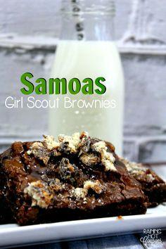 Samoas Girl Scout Brownies