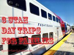 3 fun day trips for families on Utah's Frontrunner train. | TipsforFamilyTrips.com