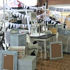 Tips for running a successful booth at a vintage market