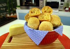 Pão de Queijo com Dois Polvilhos | Receitas | Dia Dia