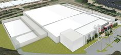 Data Foundry - Houston 2 Data Center - Greenspoint, Houston, TX - 120,000 total sq ft.  Raised floor.
