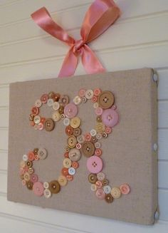 but, only this girly if i make a tiny human and it's a girl | button monogram