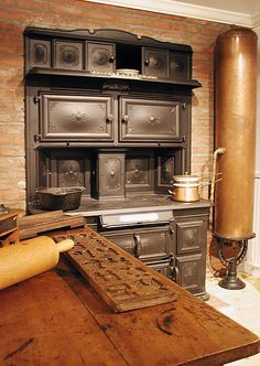 stoves of the 19th century, to the advent of the microwave oven and ...  culinary.org
