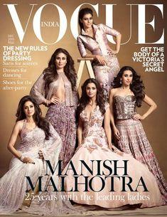 STUNNING! Sridevi, Kajol, Karisma, Kareena, Alia dazzle on Vogue Dec issue! | PINKVILLA