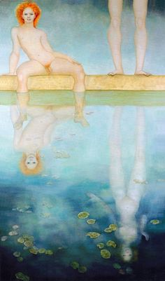 """Narcisse Incomparable"", by Leonor Fini, 1971. Oil on canvas."